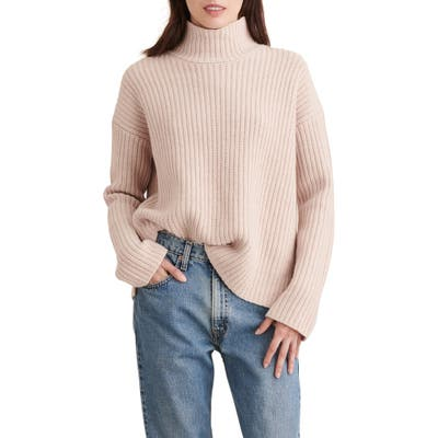 Alex Mill Seattle Merino Wool & Cashmere Sweater, Beige