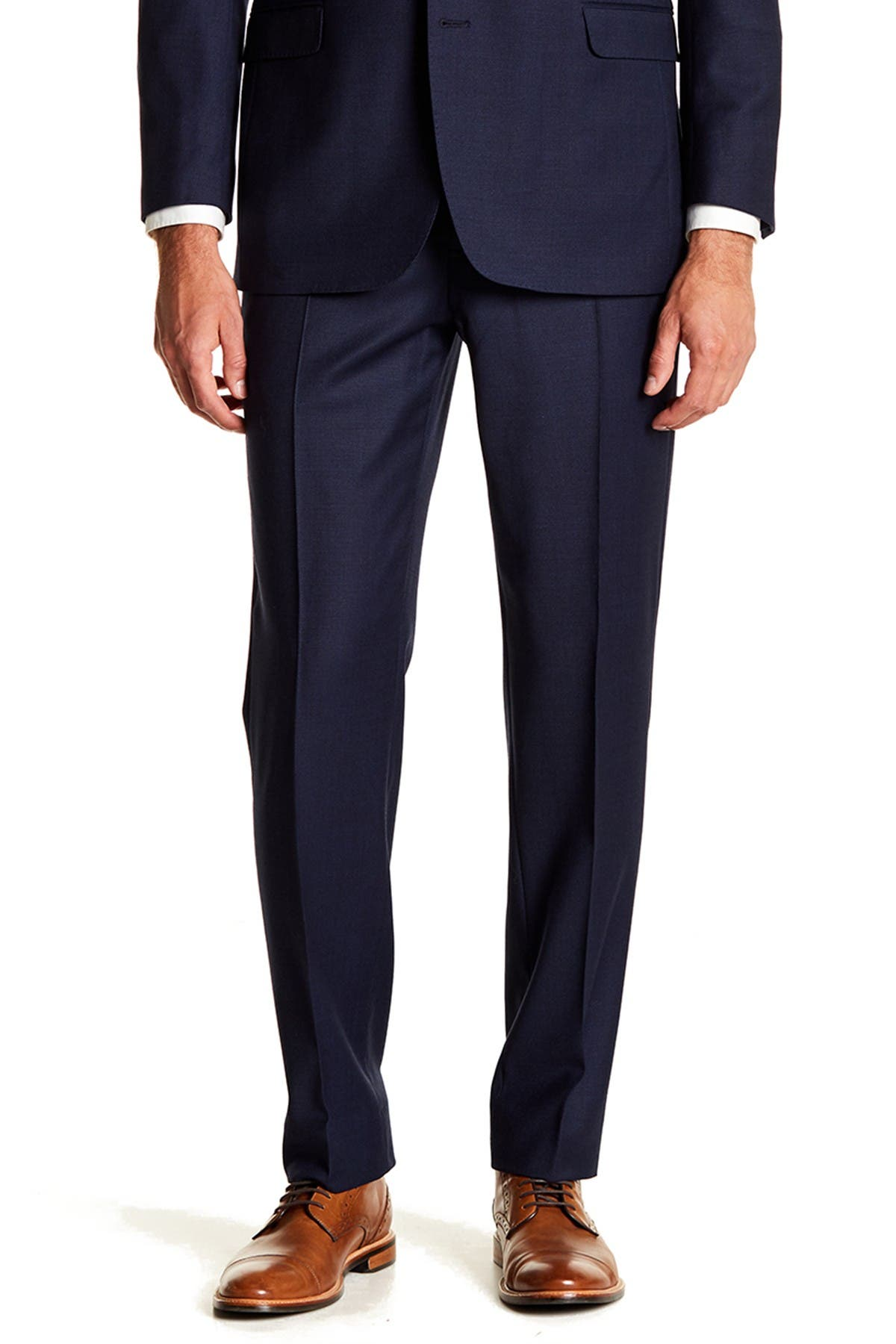 """Image of Brooks Brothers Flat Front Regent Fit Pants - 30-34"""" Inseam"""