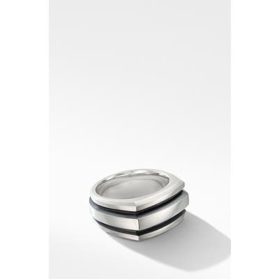 David Yurman Deco Cigar Band Ring