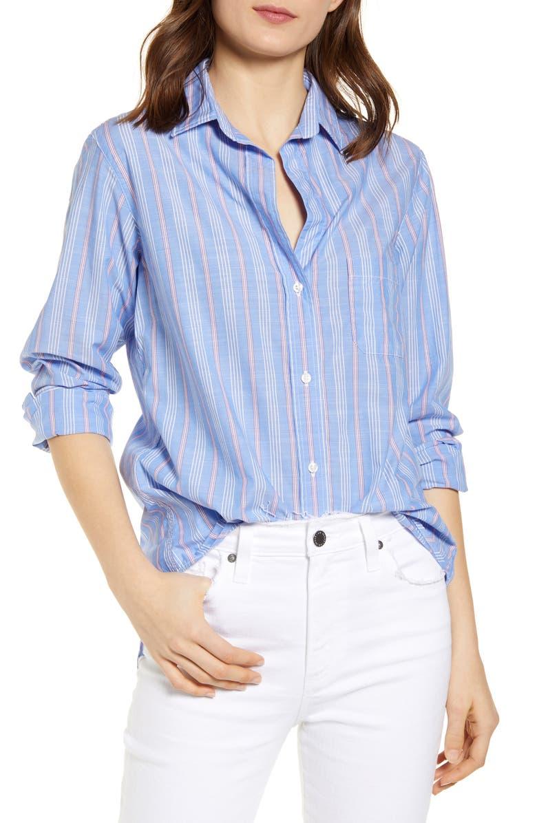 GRAYSON The Hero Stripe Shirt, Main, color, WINONA