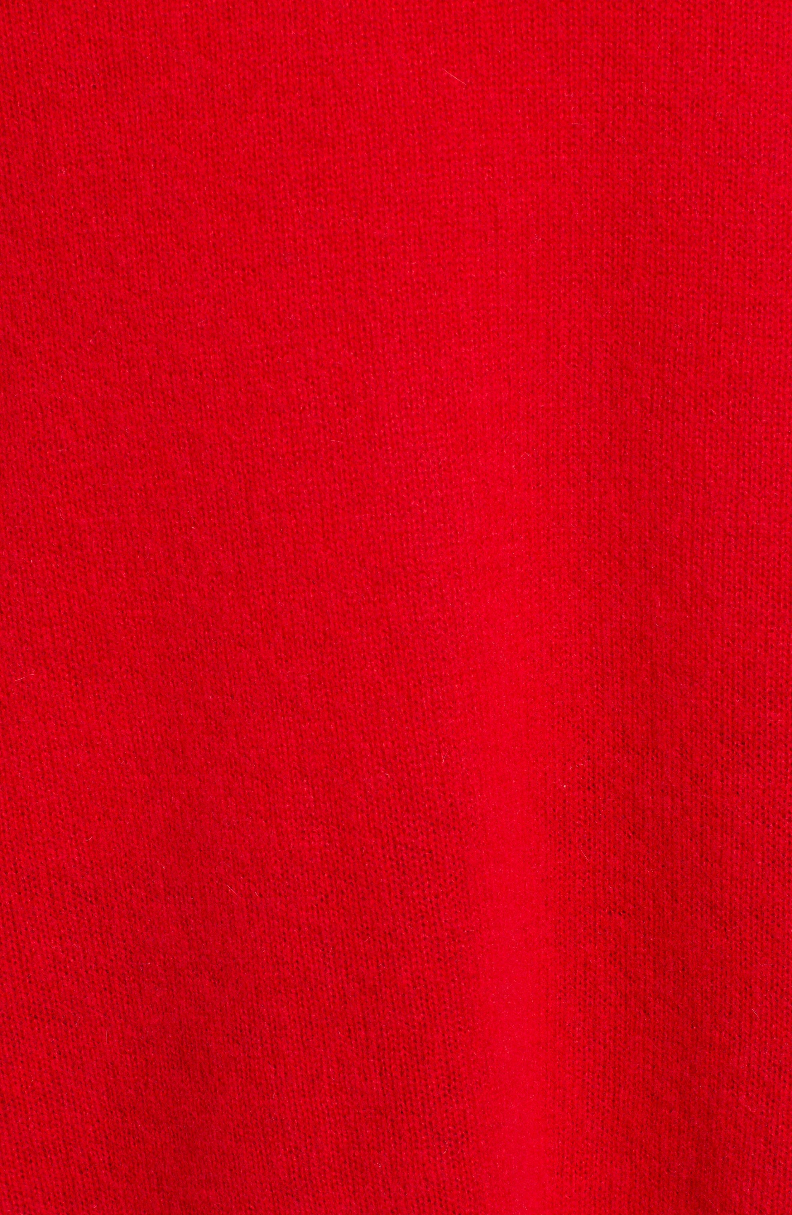 ,                             Relaxed V-Neck Cashmere Sweater,                             Alternate thumbnail 61, color,                             610