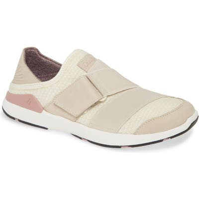 Olukai Mikilua Kakoo Slip-On Sneaker- Beige