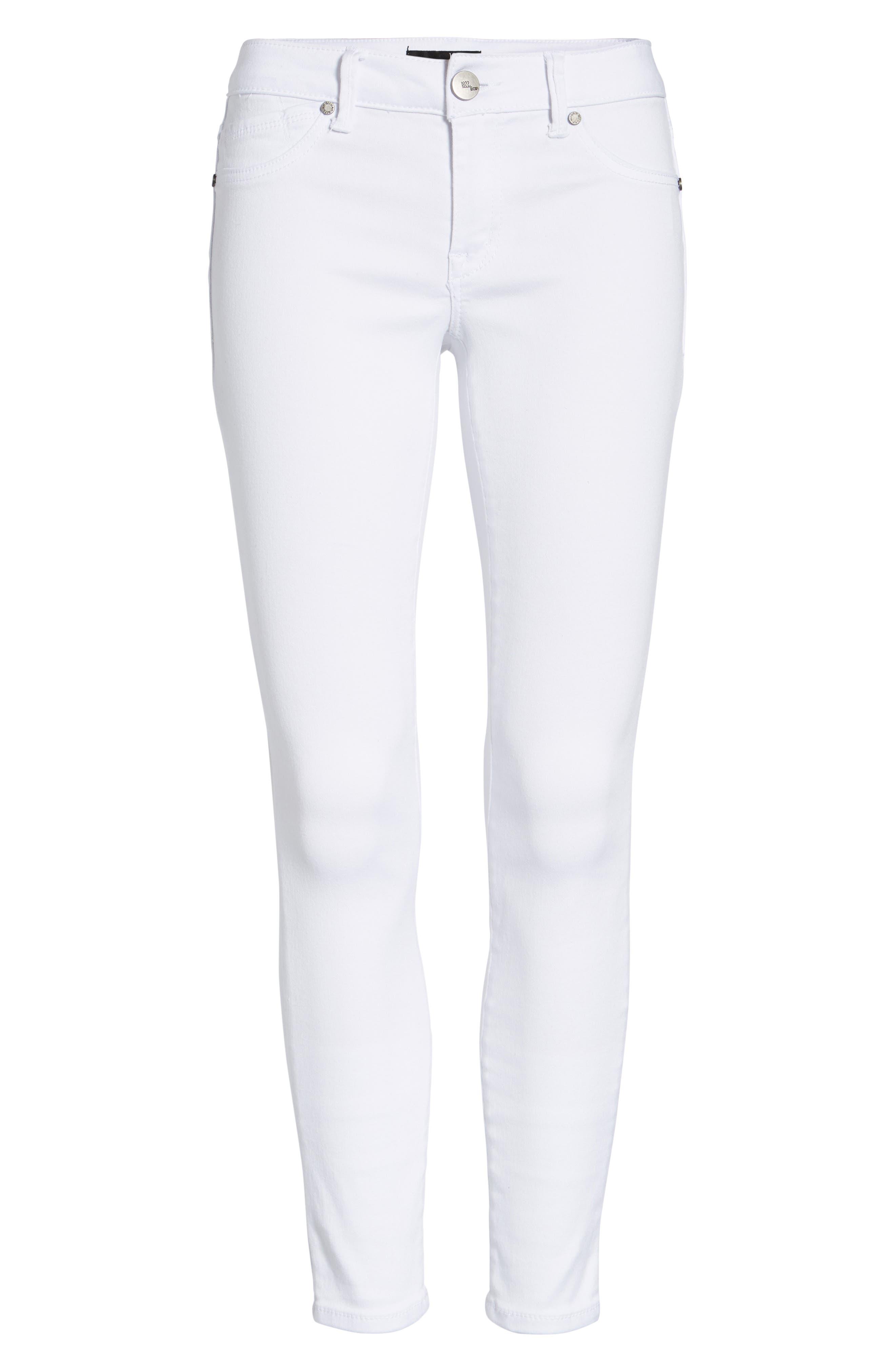 ,                             1822 Butter Skinny Jeans,                             Alternate thumbnail 7, color,                             WHITE