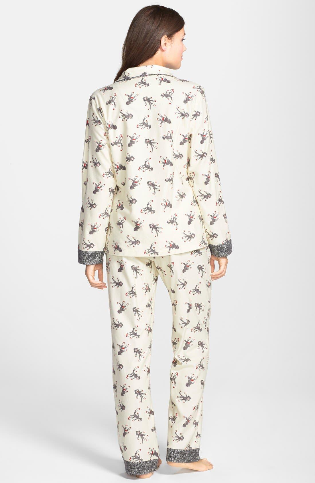 ,                             Flannel Pajamas,                             Alternate thumbnail 110, color,                             902