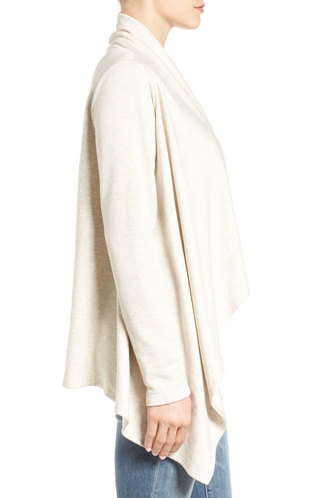 ,                             One-Button Fleece Wrap Cardigan,                             Alternate thumbnail 68, color,                             289