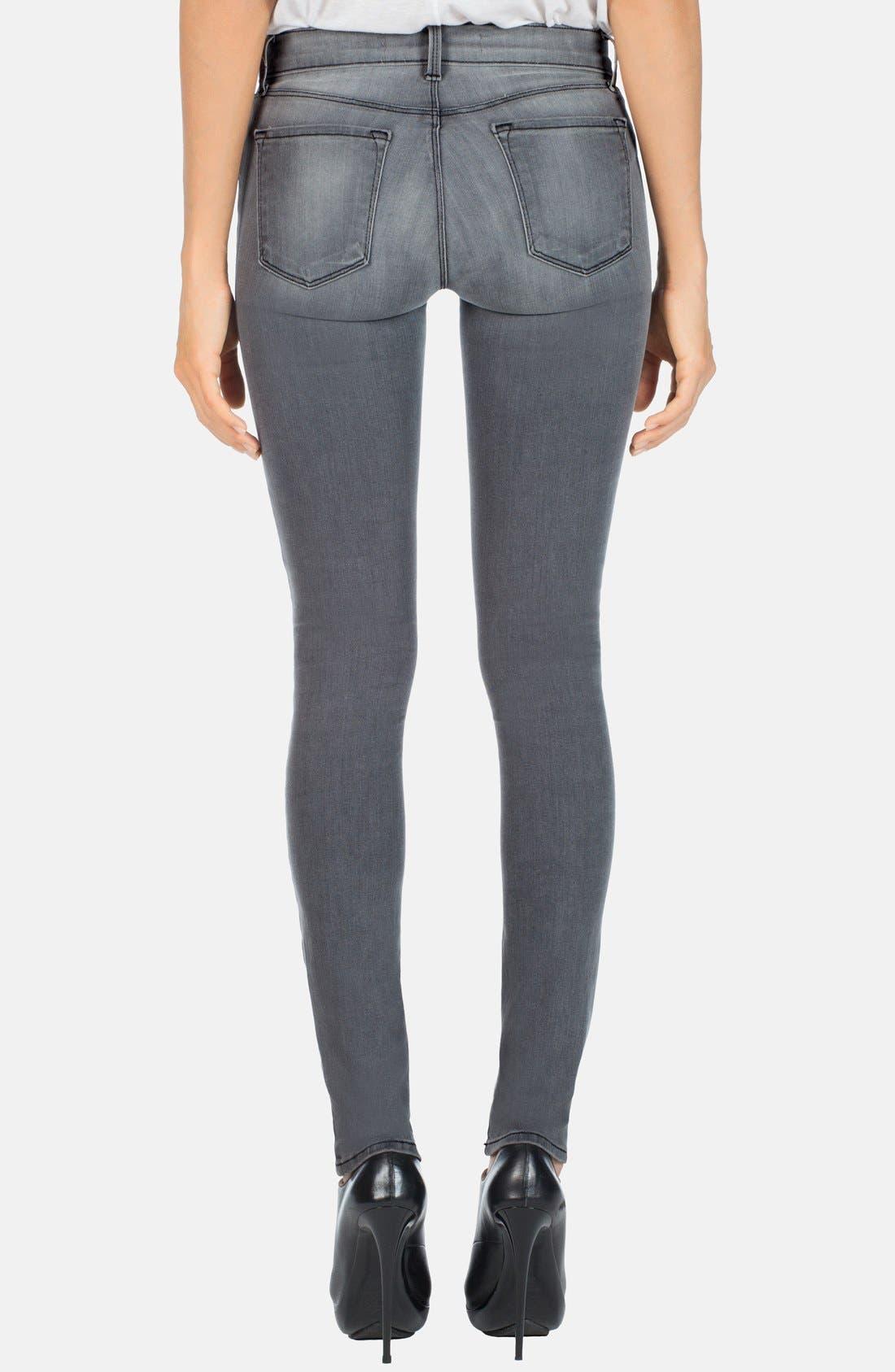 ,                             '620' Mid Rise Skinny Jeans,                             Alternate thumbnail 17, color,                             020