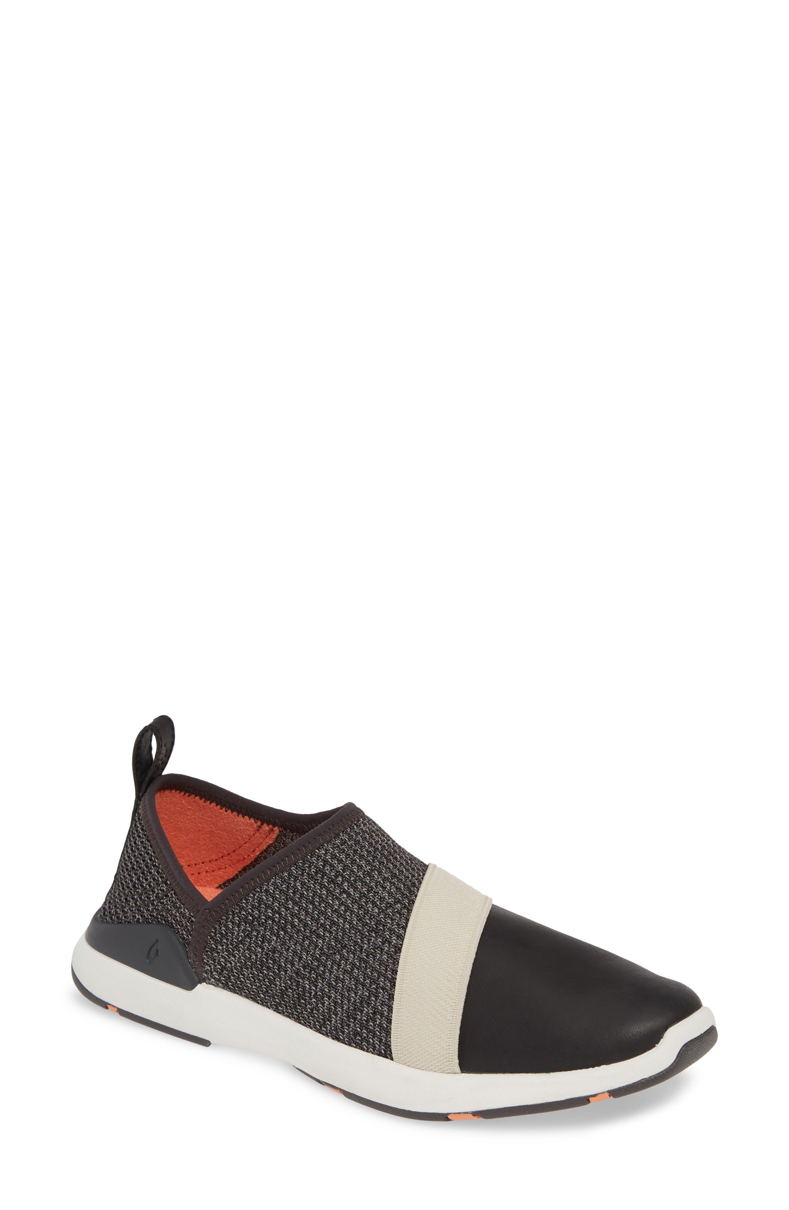 Olukai Miki Slip-On Sneaker, Black