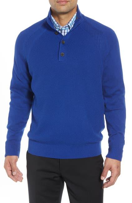 Image of Cutter & Buck Reuben Pullover Sweater