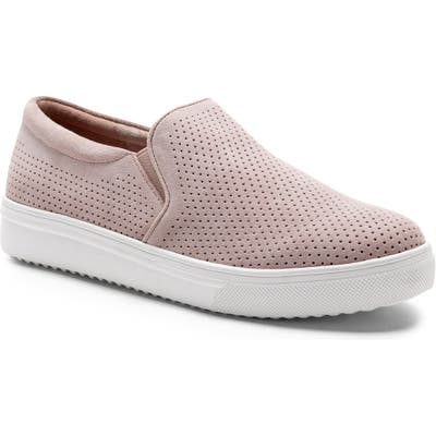 Blondo Gallert Perforated Waterproof Platform Sneaker- Pink