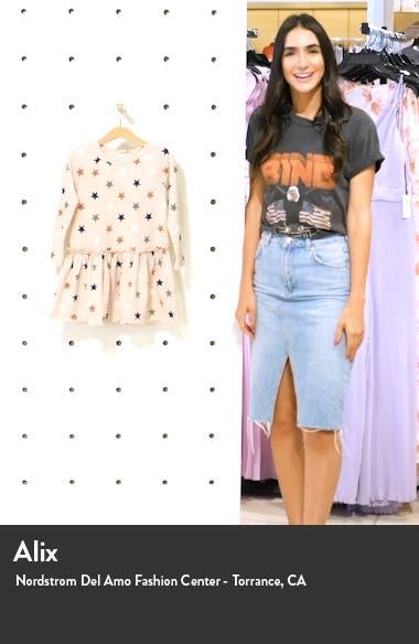 Drop Hem Dress, sales video thumbnail
