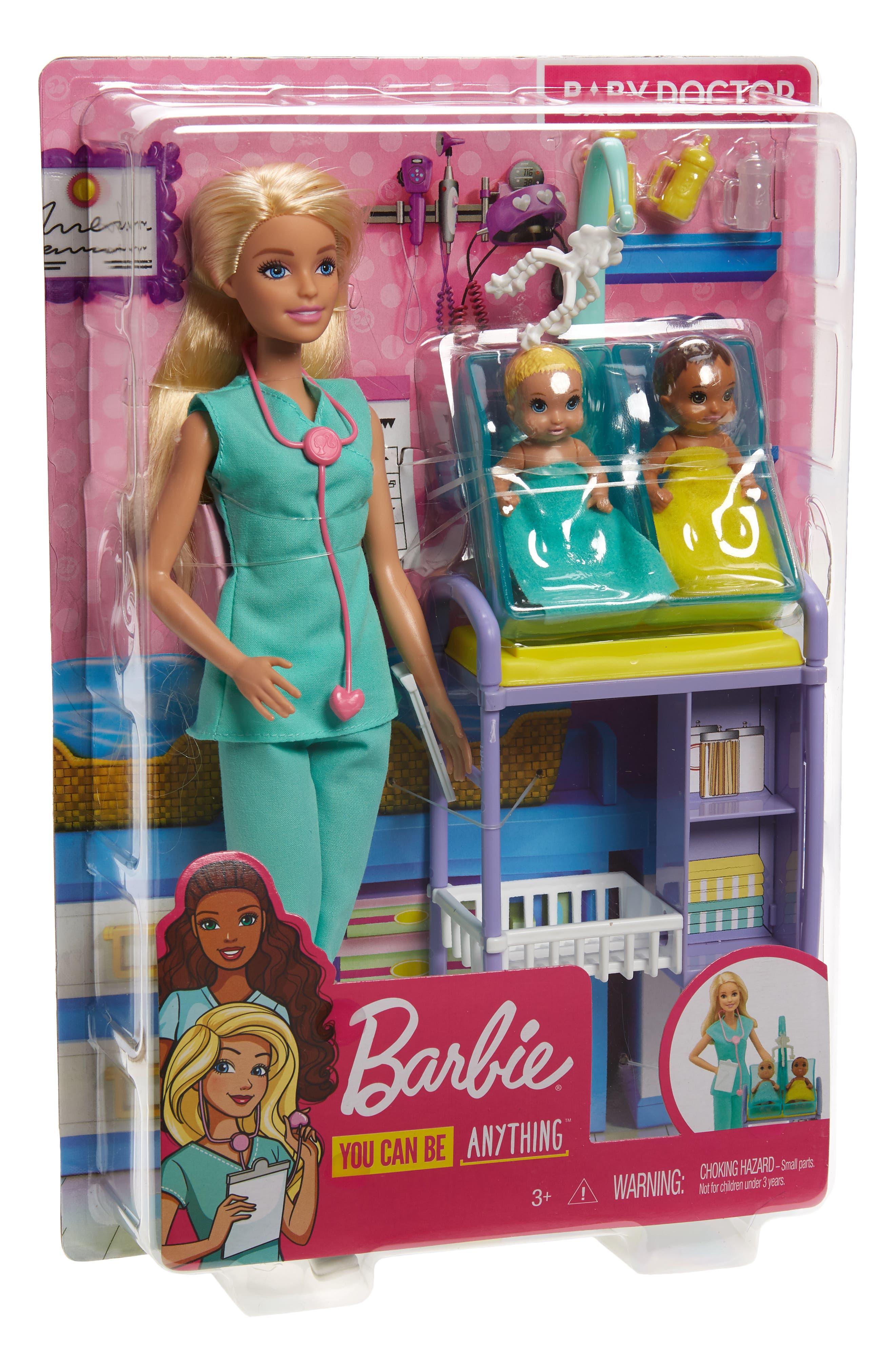 Image of Mattel Barbie(R) Baby Doctor Doll