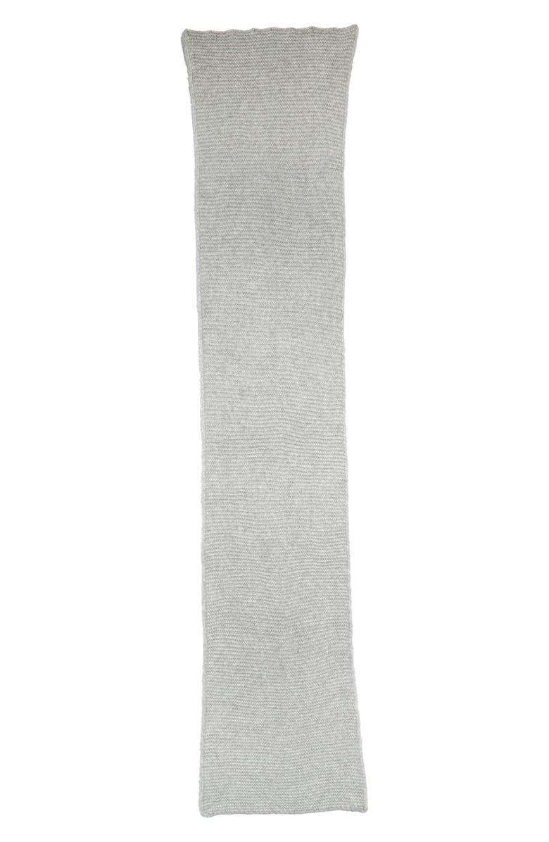 RACHEL PARCELL Knit Scarf, Main, color, GREY MEDIUM HEATHER