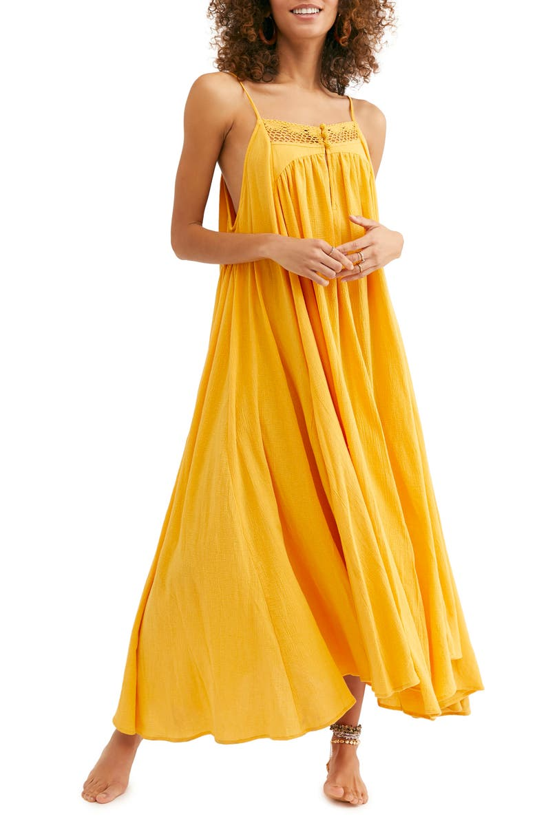 FREE PEOPLE Endless Summer by Free People Mancora Maxi Dress, Main, color, ORANGE