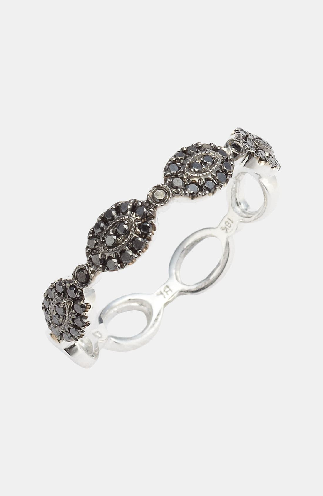 Oval Diamond Stackable Ring (Nordstrom Exclusive)