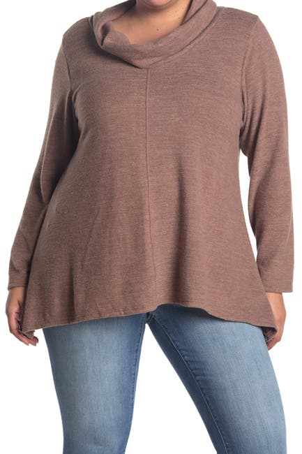 Image of Forgotten Grace Cowl Neck Sweater