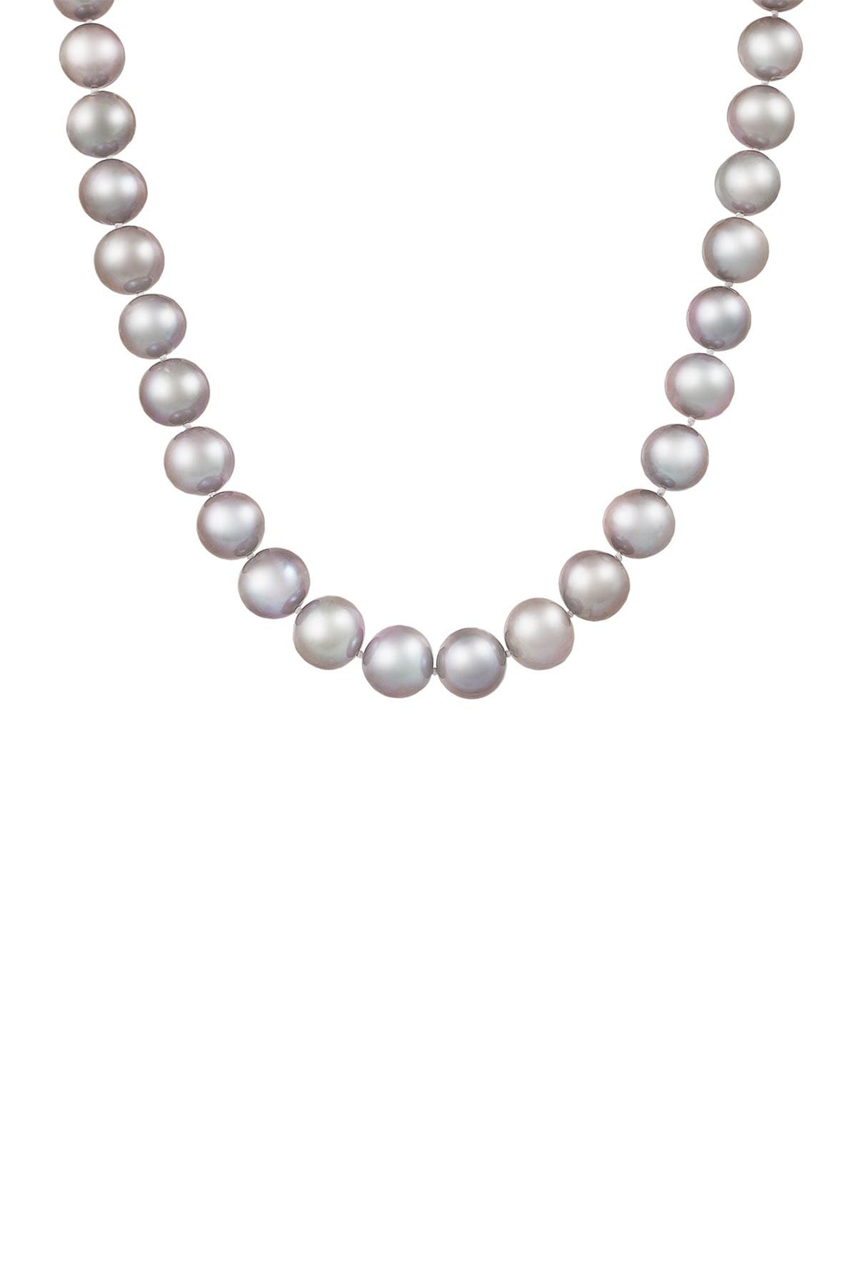 Image of Splendid Pearls Gray Pearl Necklace