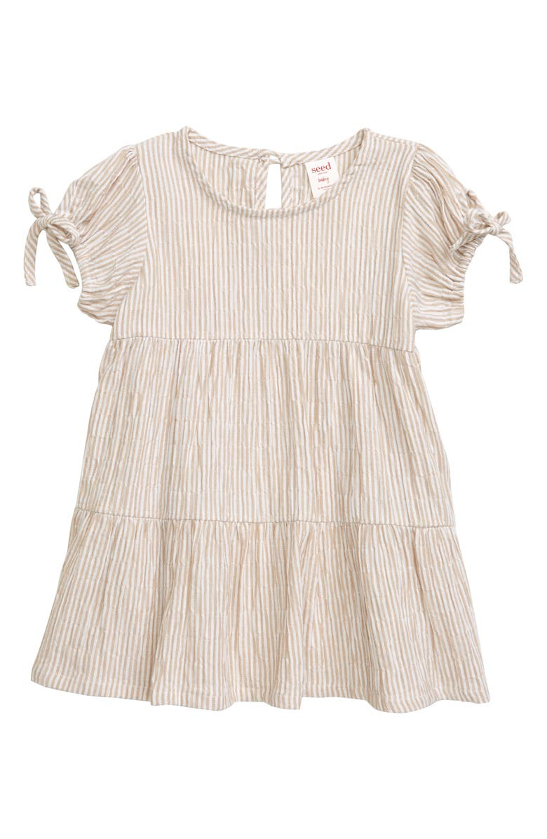 SEED HERITAGE Baby Stripe Dress, Main, color, 250