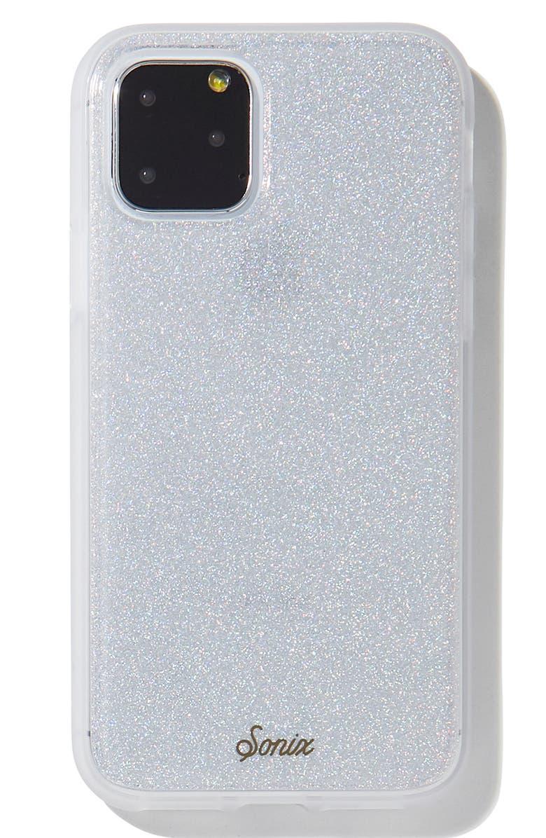 SONIX Holographic iPhone 11, 11 Pro & 11 Pro Max Case, Main, color, SILVER