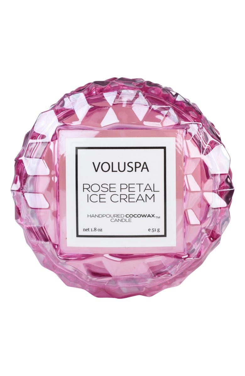 VOLUSPA Roses Macaron Candle, Main, color, ROSE PETAL ICE CREAM