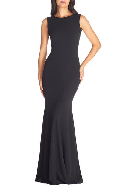 Dress The Population Gowns LEIGHTON SLEEVELESS MERMAID EVENING GOWN