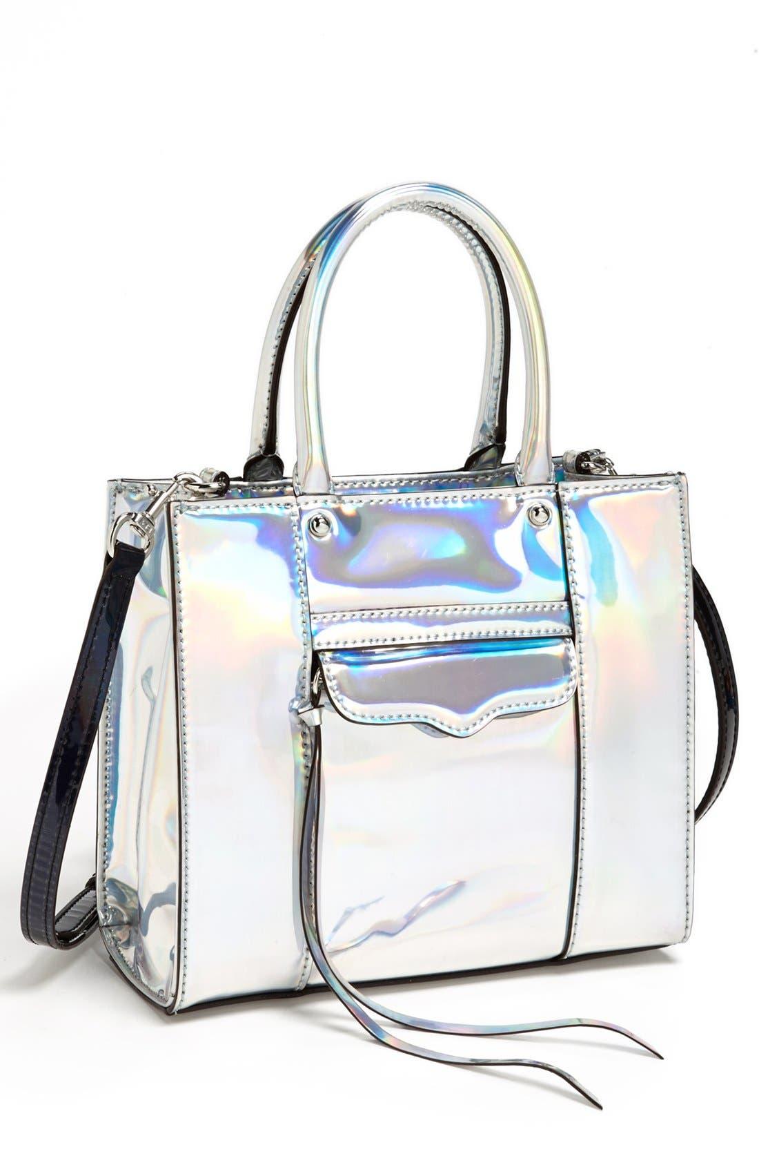 ,                             'Mini MAB Tote' Crossbody Bag,                             Main thumbnail 28, color,                             040