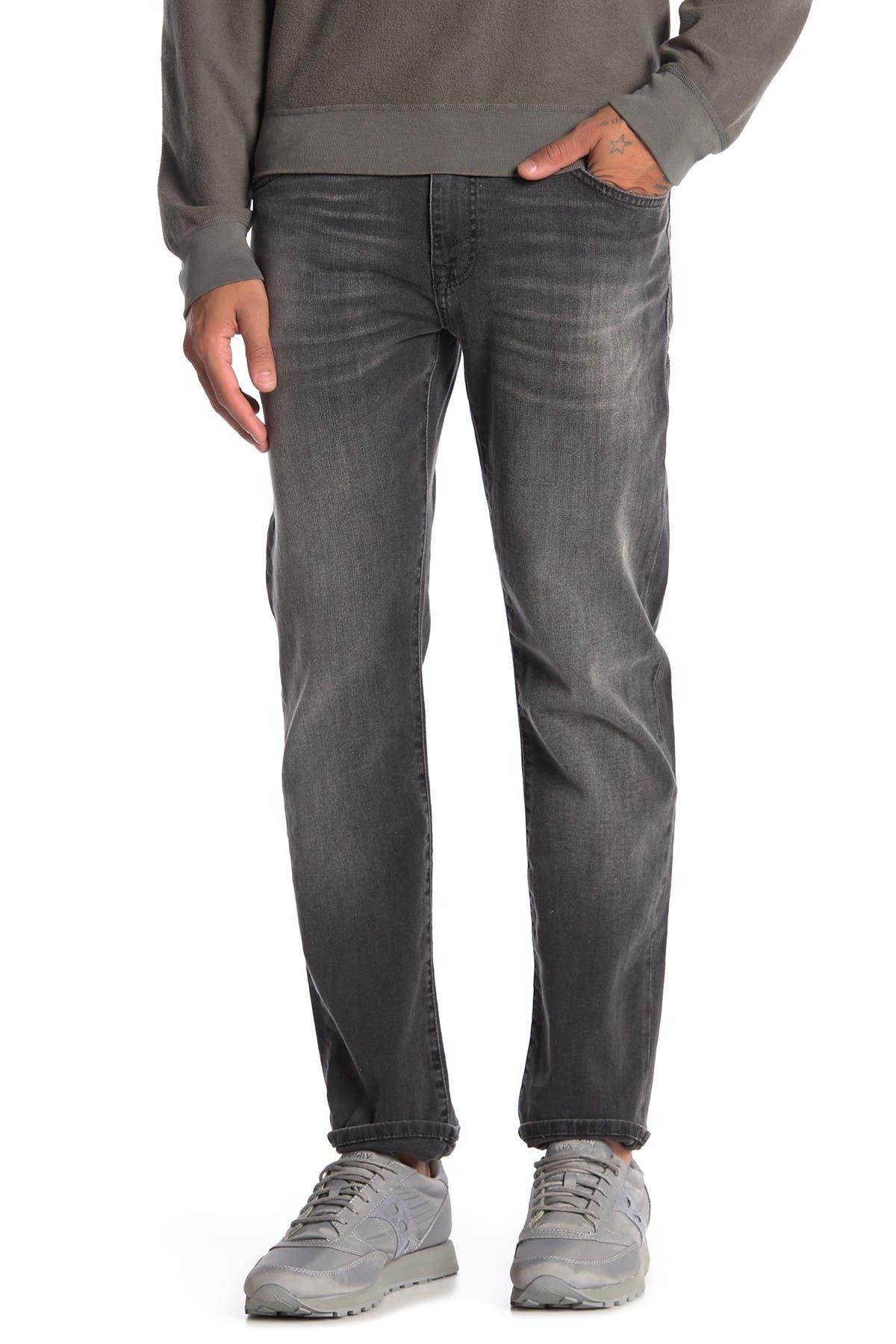 """Image of Mavi Marcus Slim Straight Jeans - 30-36"""" Inseam"""