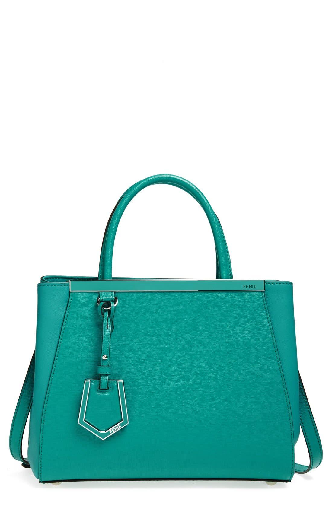 ,                             'Petite 2Jours Elite' Leather Shopper,                             Main thumbnail 67, color,                             470