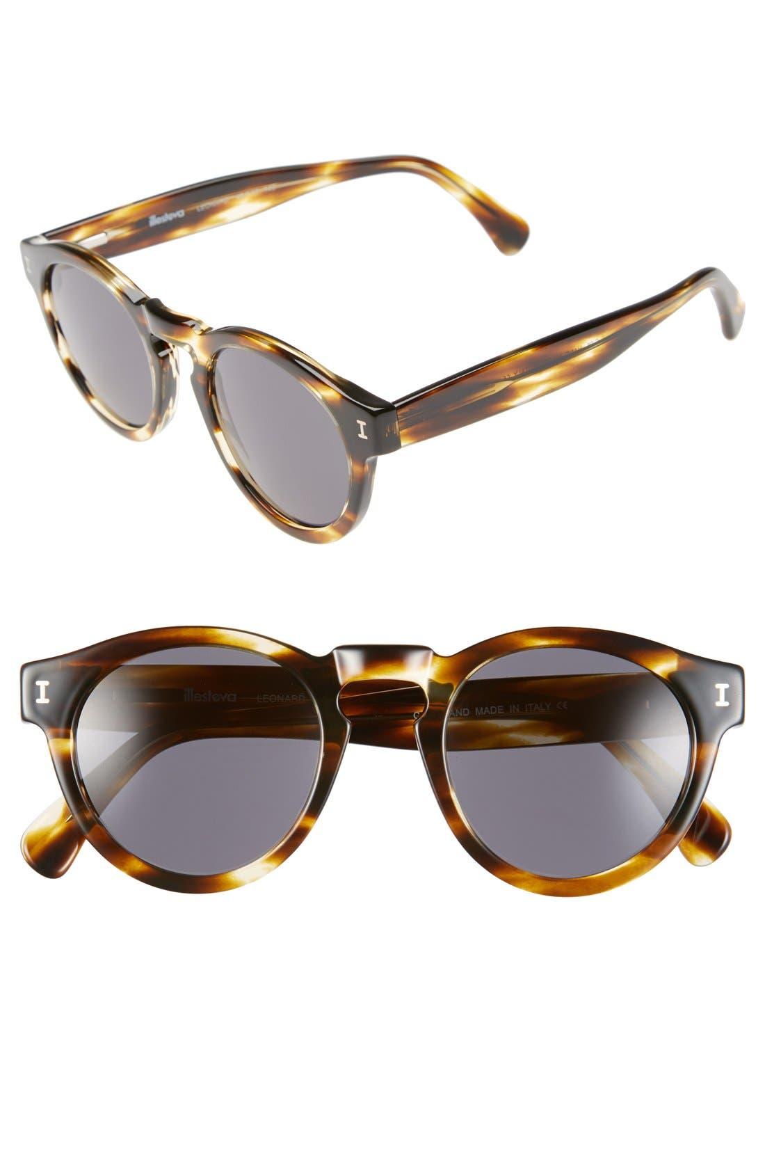 ,                             'Leonard' 47mm Sunglasses,                             Main thumbnail 100, color,                             231