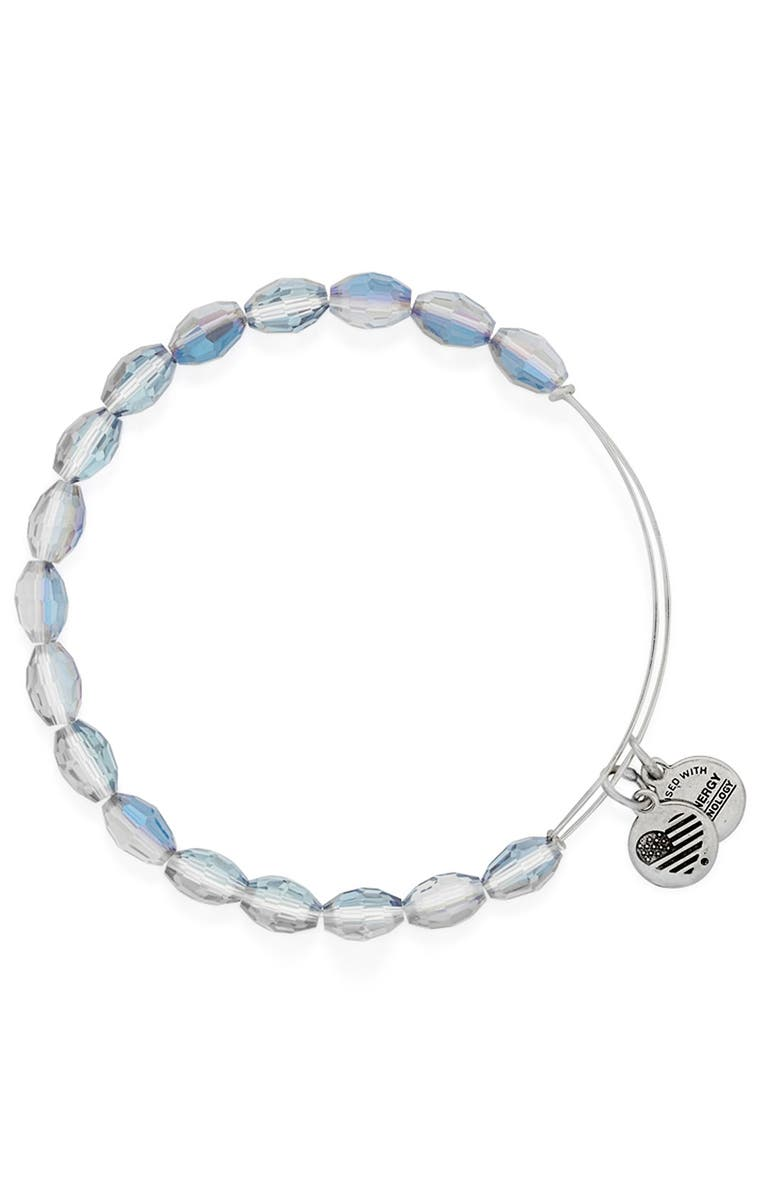 ALEX AND ANI 'Serenity' Expandable Beaded Bangle, Main, color, 400