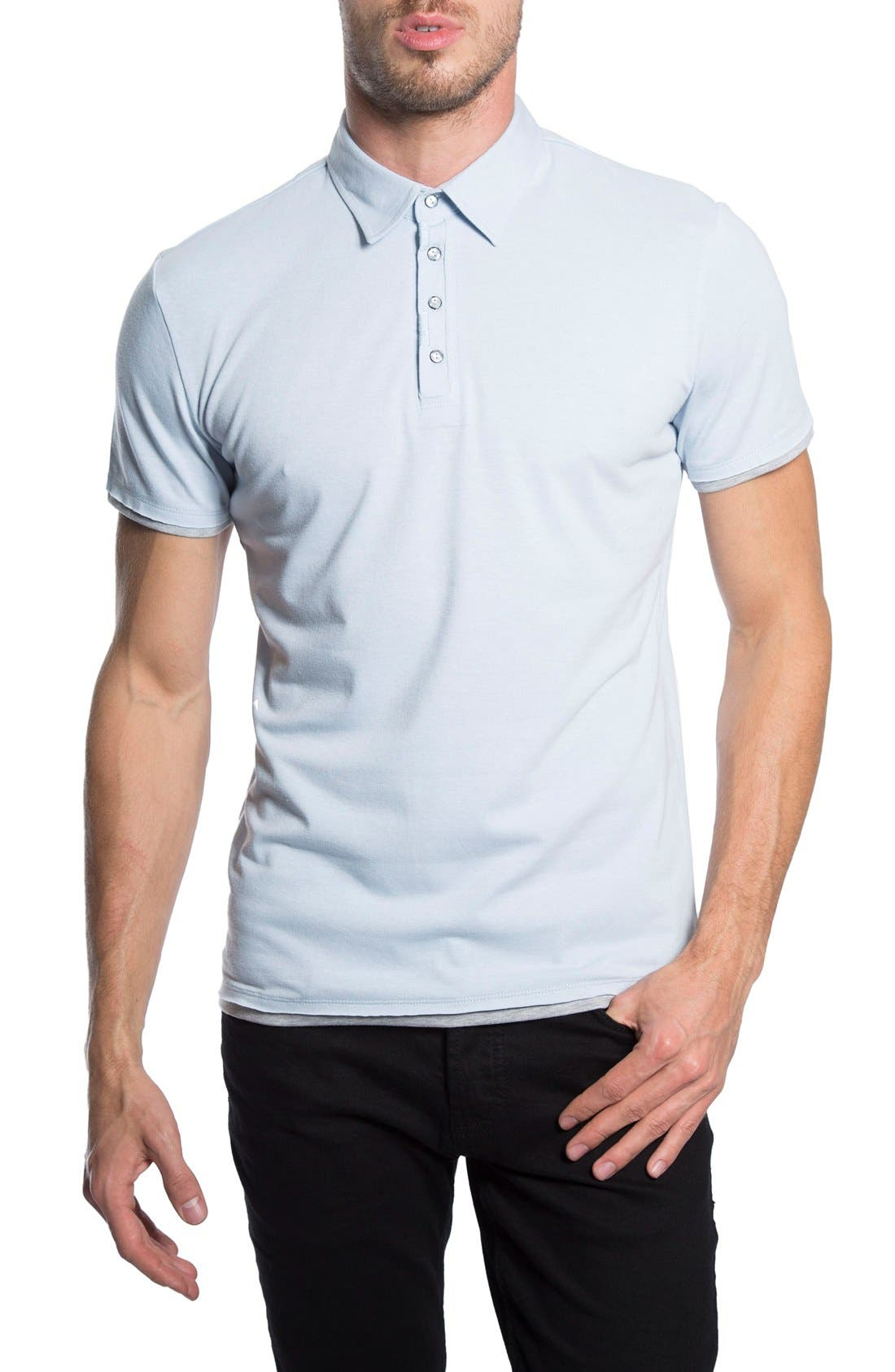 Ultimate Polo, Main, color, POWDER BLUE