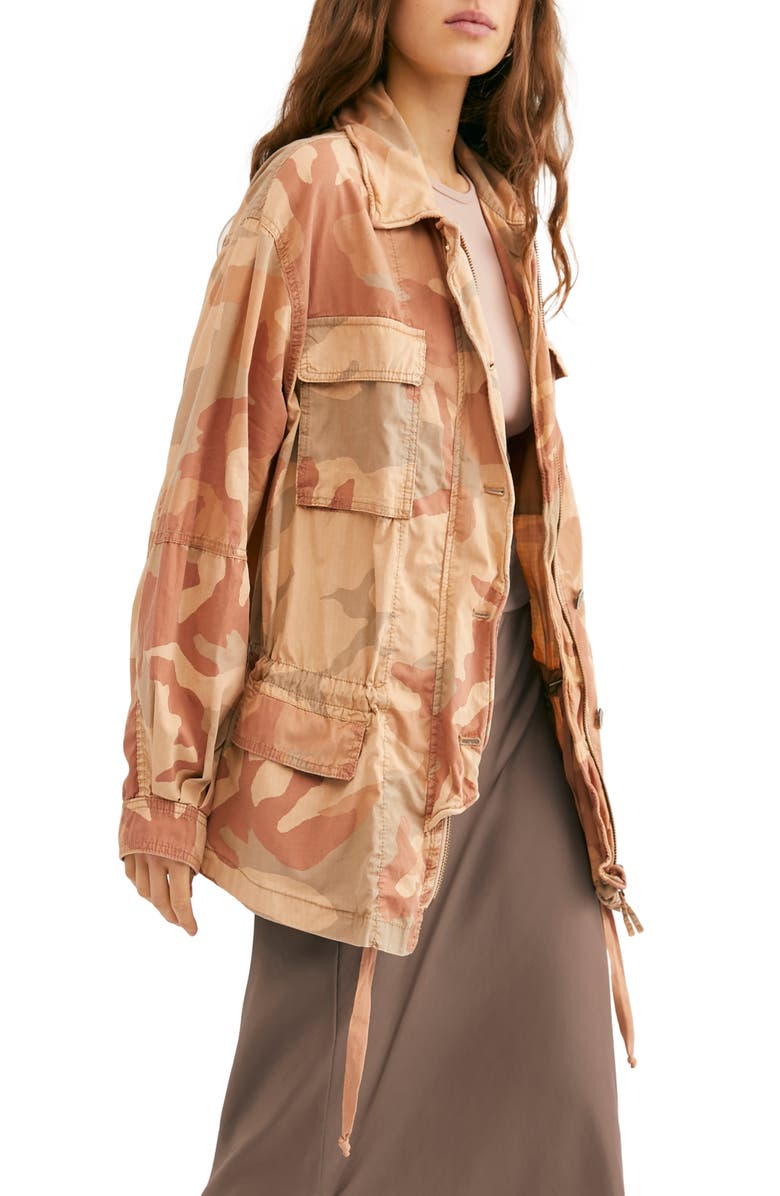 FREE PEOPLE Lead the Way Jacket, Main, color, NEUTRAL COMBO