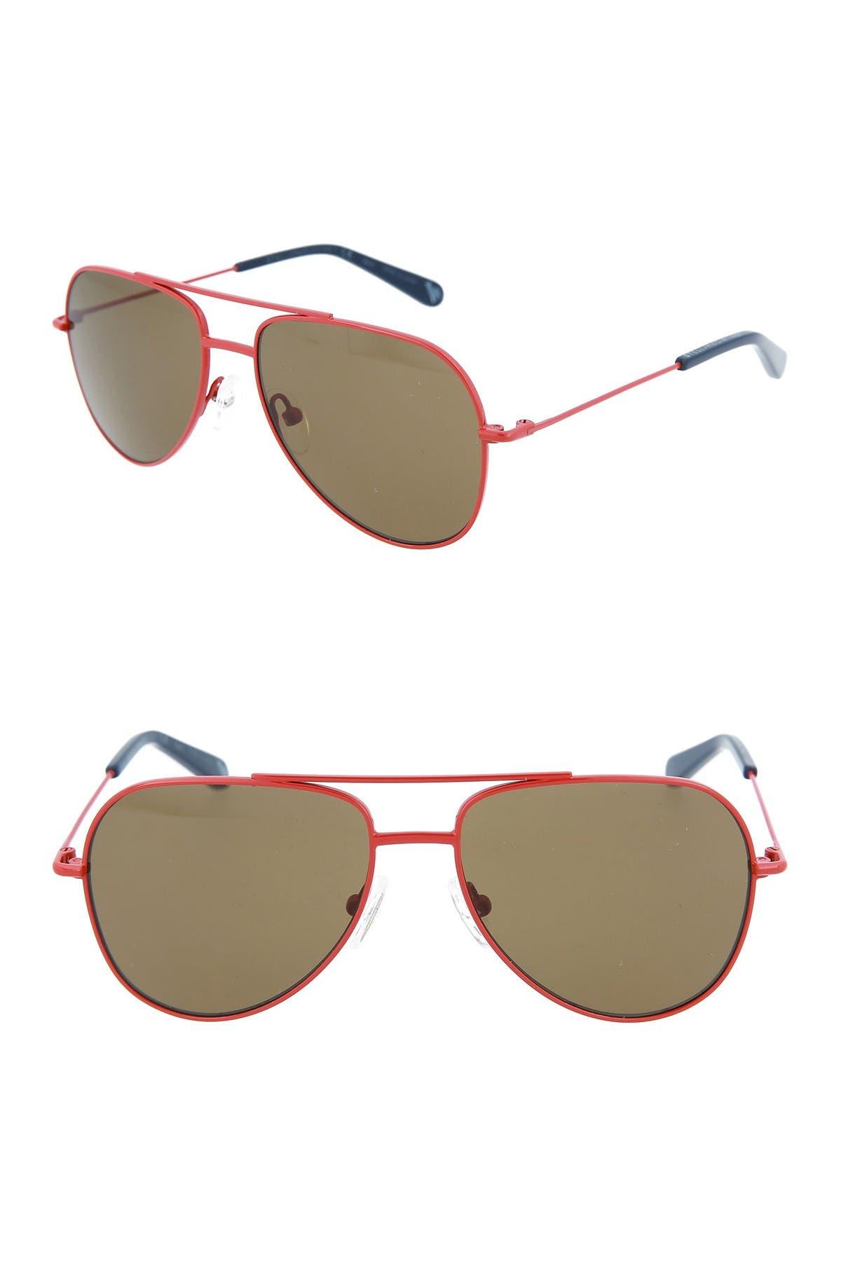 Image of Stella McCartney 51mm Aviator Sunglasses