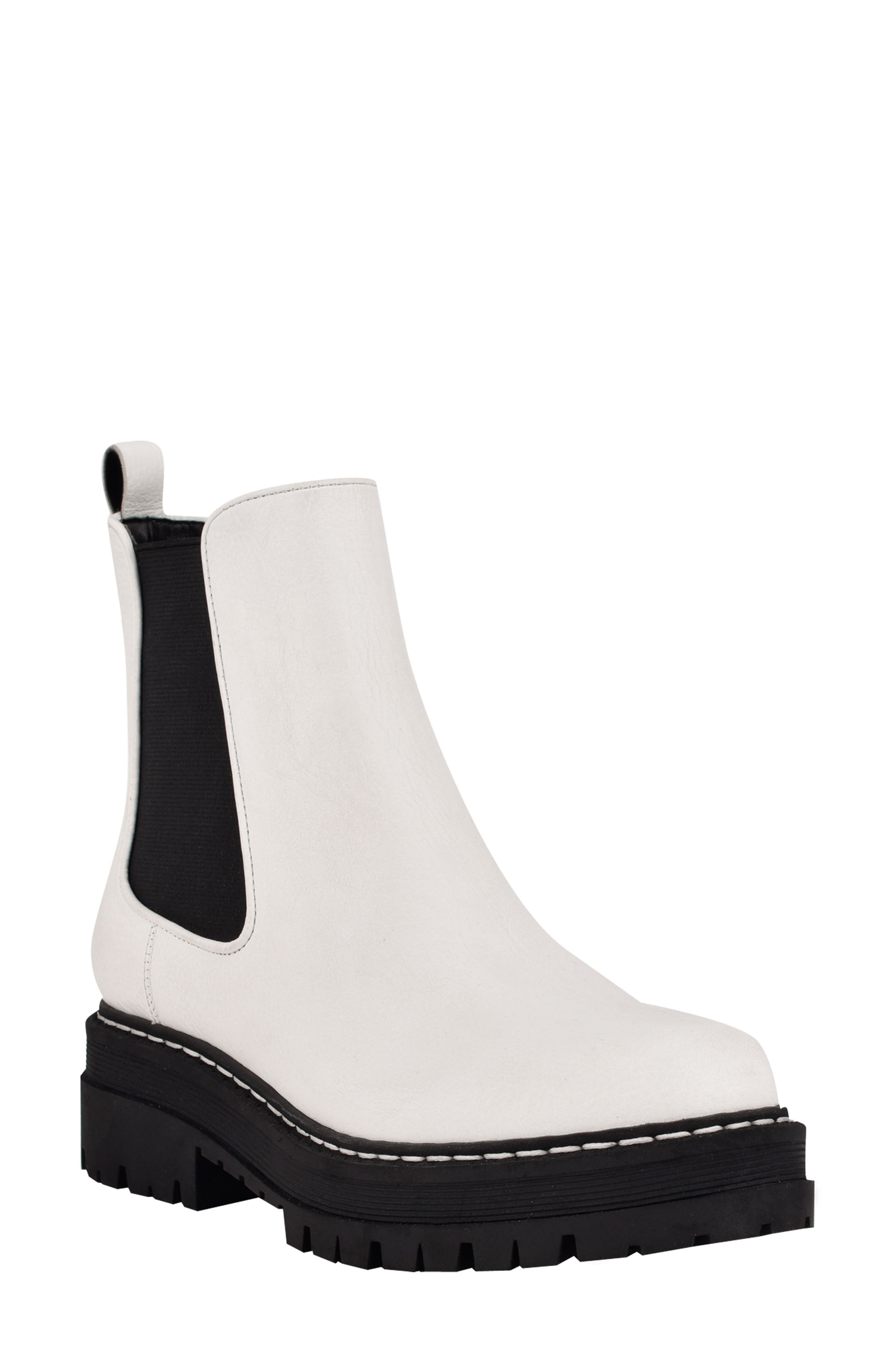 Privi Platform Chelsea Boot