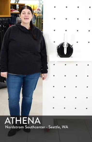 Kate Colorblock Leather Circle Bag, sales video thumbnail