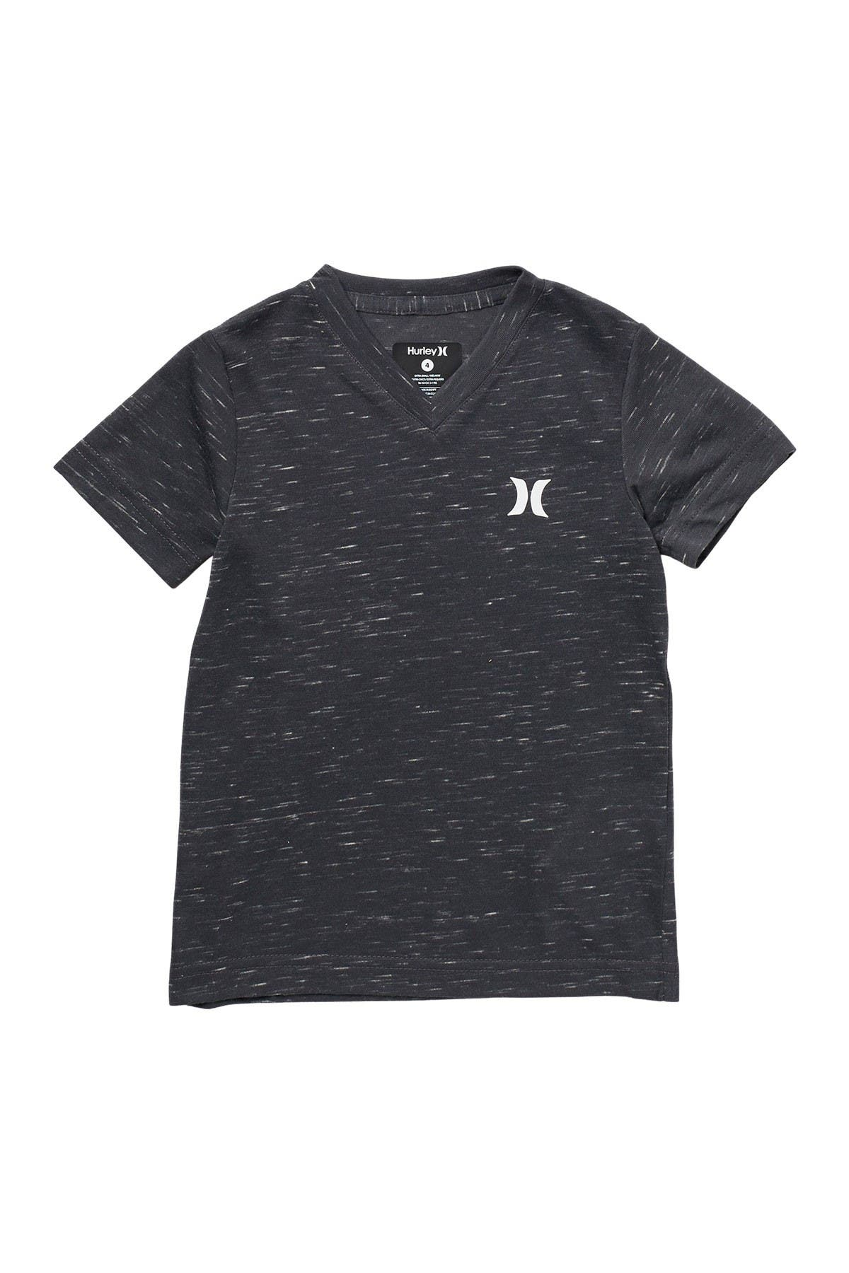 Image of Hurley Cloud Slub Staple V-Neck T-Shirt