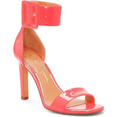 Jessica Simpson Caytie Ankle Strap Sandal- Pink