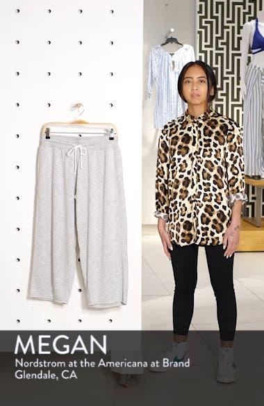 Cropped Fleece Pants, sales video thumbnail