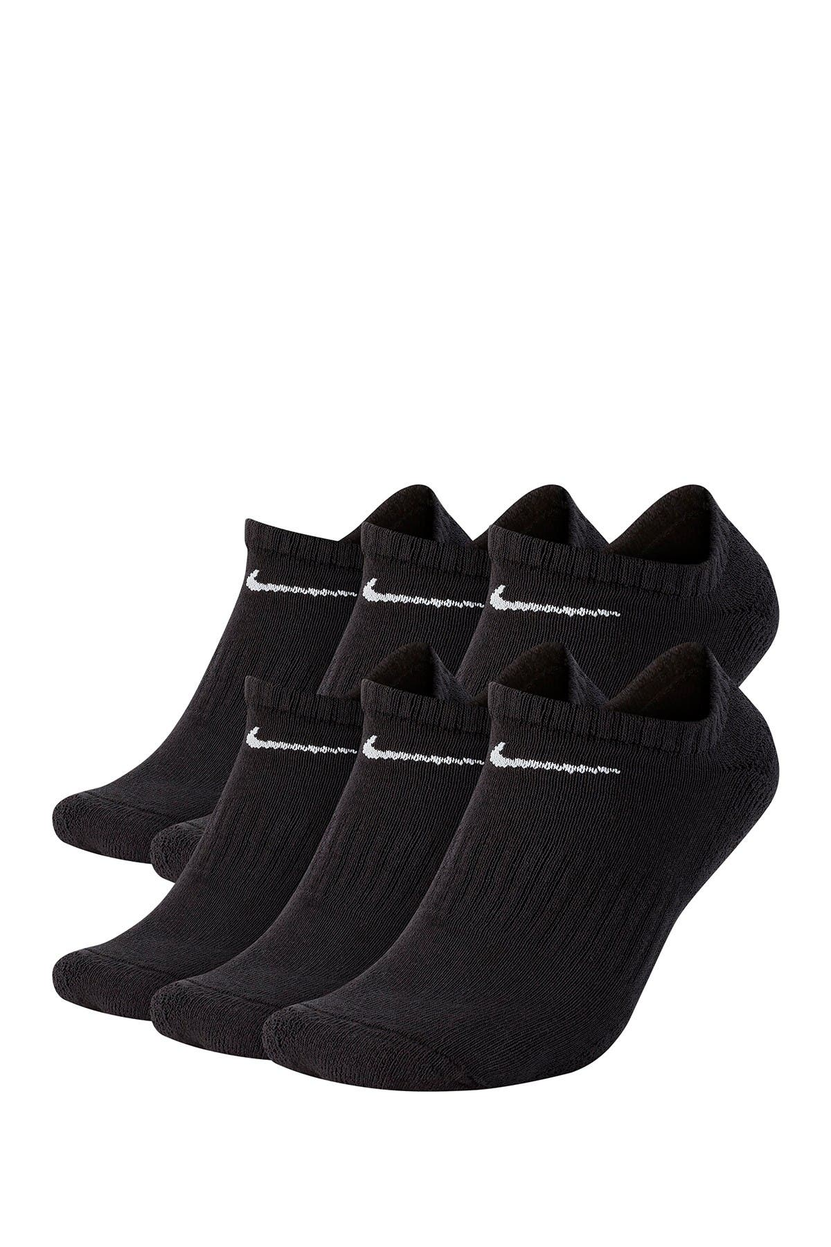 Image of Nike Everyday Cushion No-Show Socks - Set of 6
