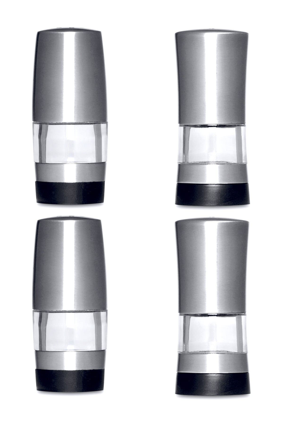 Image of BergHOFF Mini Salt and Pepper Dispensers - 2-Piece Set
