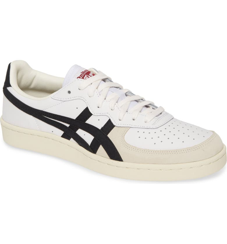 ASICS<SUP>®</SUP> Onitsuka Tiger<sup>™</sup> GSM Sneaker, Main, color, WHITE/ BLACK