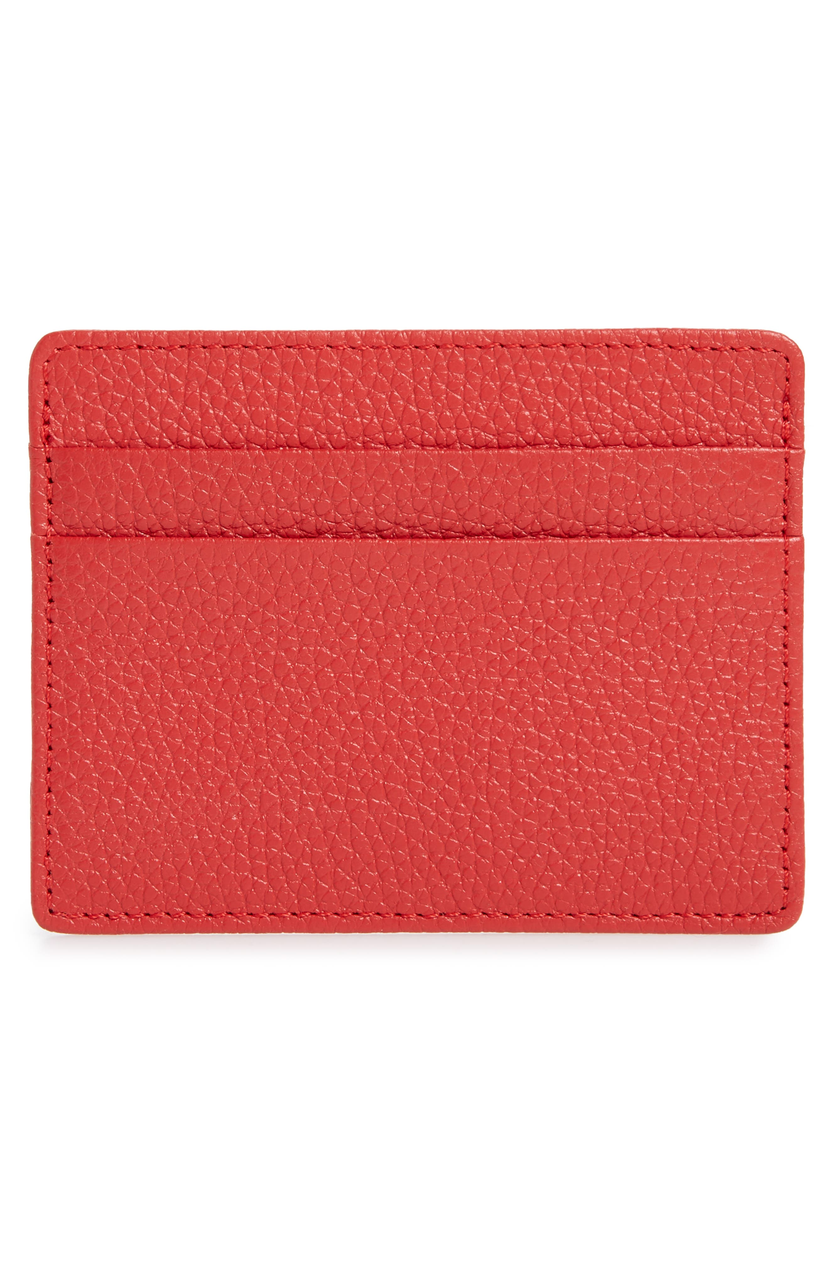 ,                             Jamie Leather Card Case,                             Alternate thumbnail 54, color,                             610