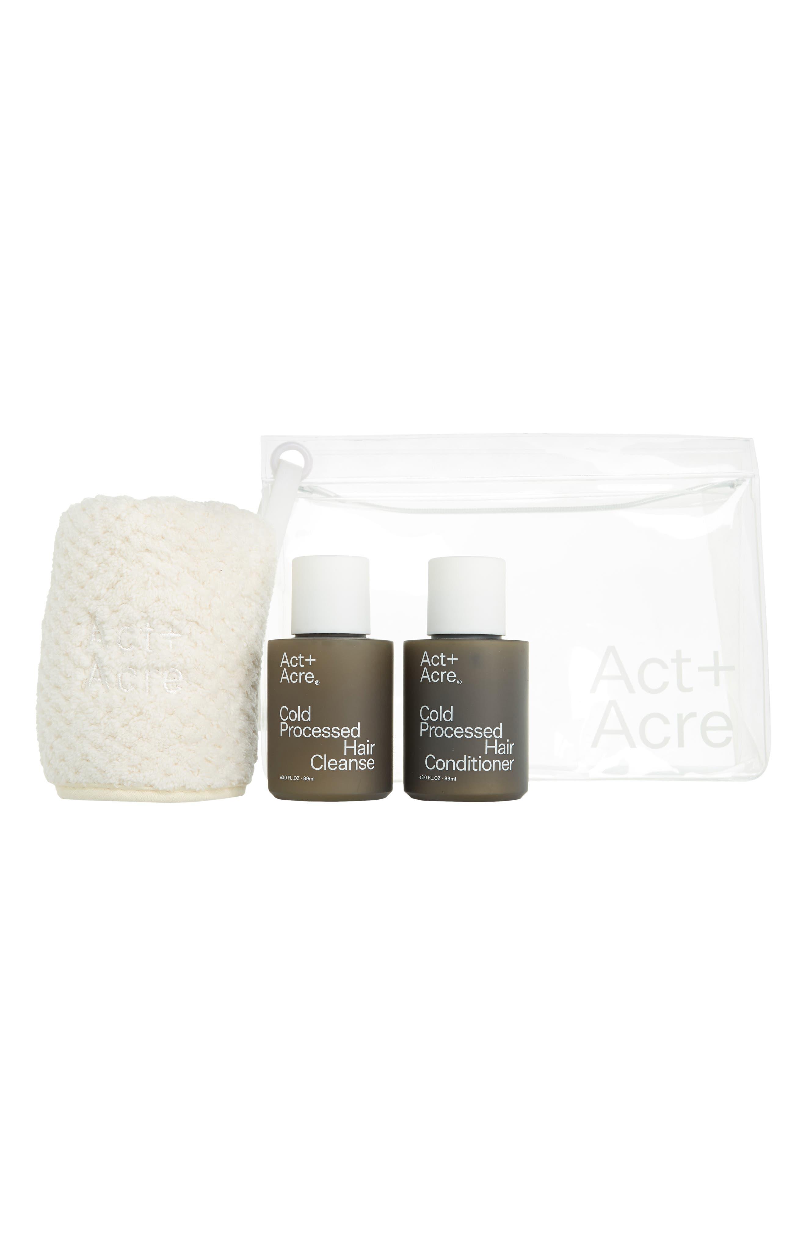 Act+Acre Cold Processed Mini Essentials Set