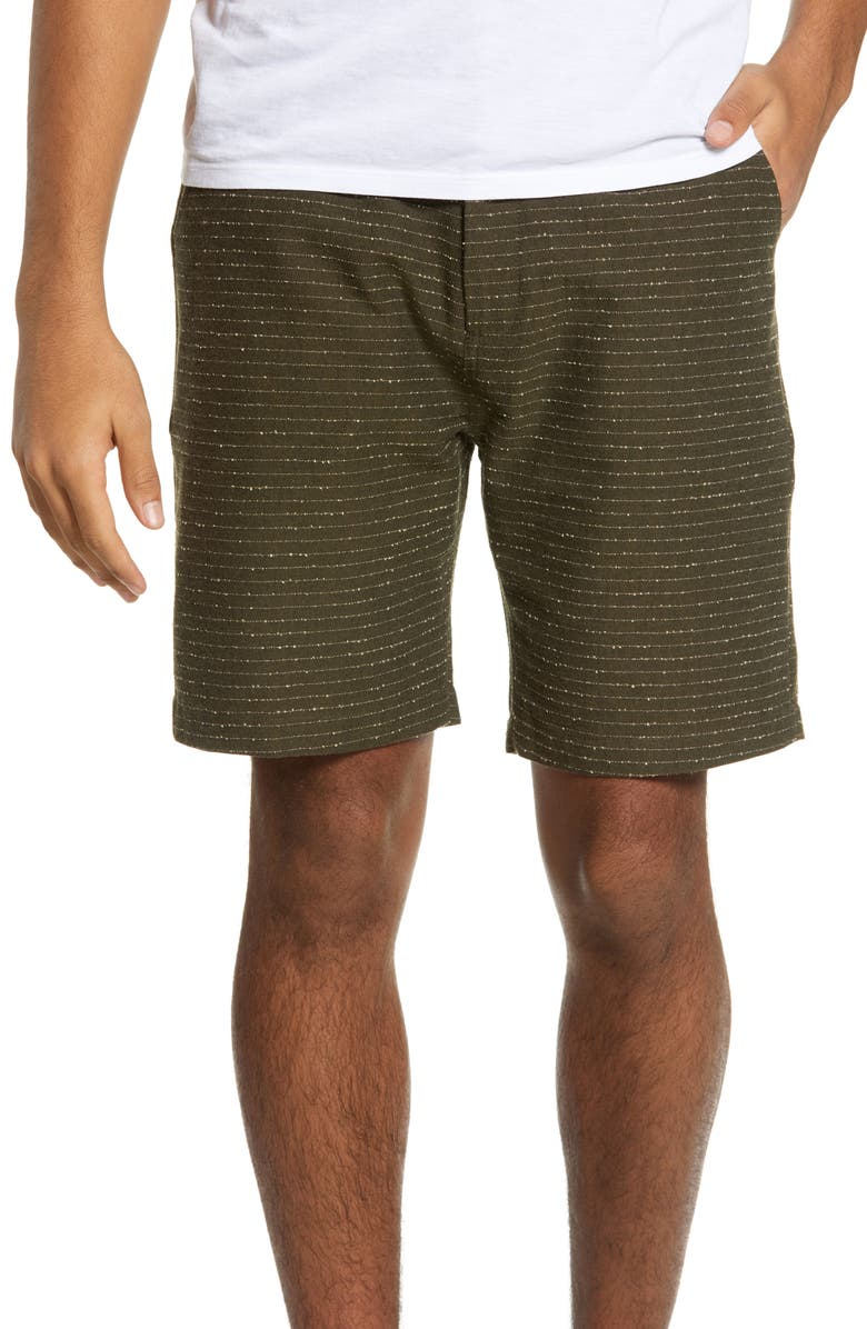 WAX LONDON Holm Pinstripe Shorts, Main, color, 300