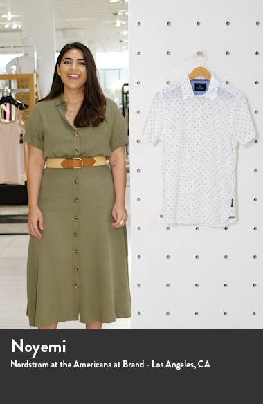 Classic Fit Short Sleeve Button-Up Shirt, sales video thumbnail