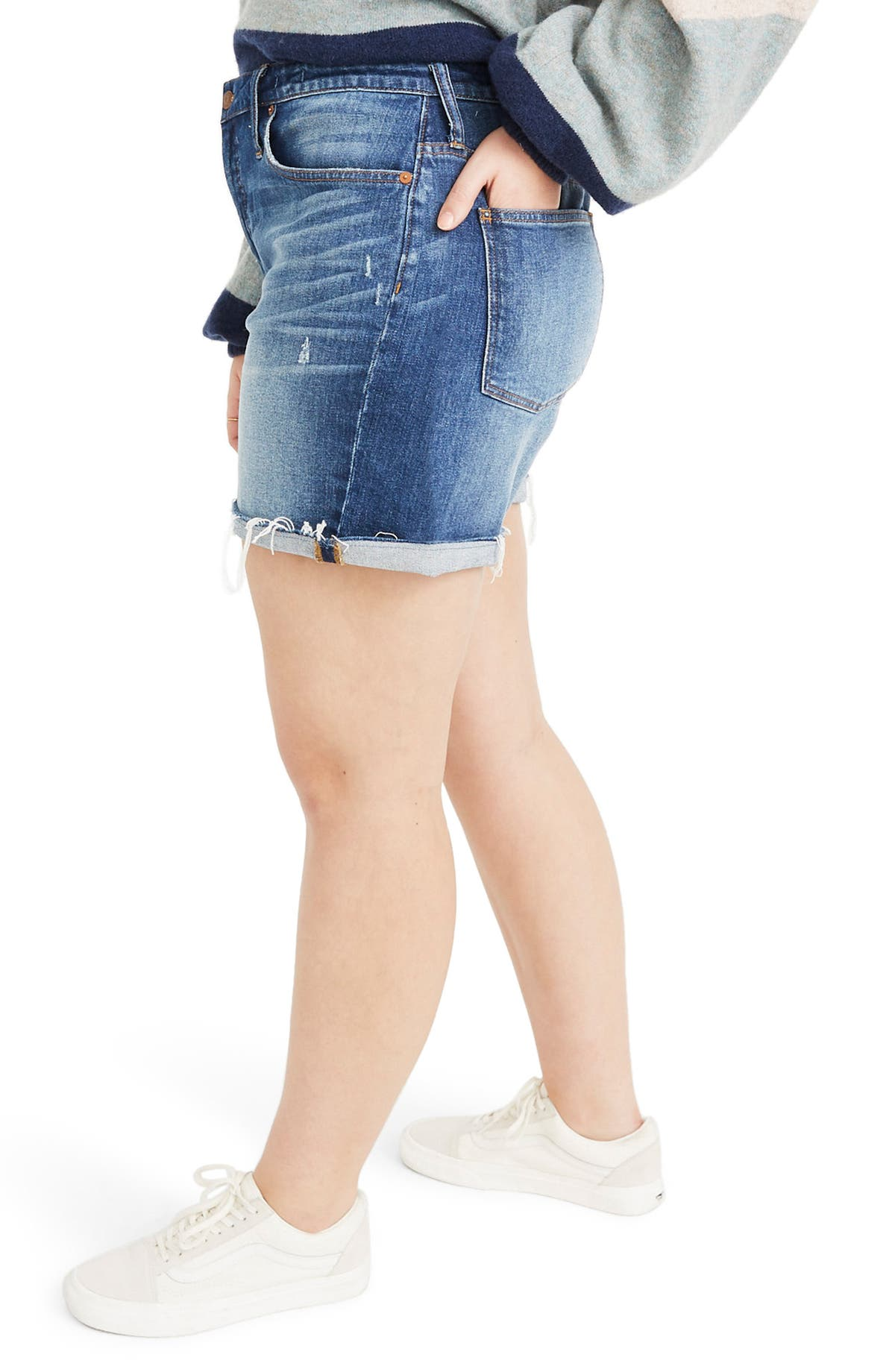 b2c92c64e0e Madewell High Rise Cuffed Denim Shorts (Glen Oaks)