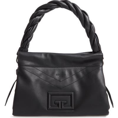 Givenchy Id 93 Medium Leather Handbag - Black