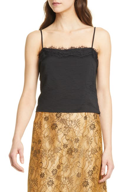 Image of Vince Lace Trim Camisole