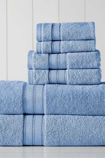 Image of Modern Threads SpunLoft 6-Piece Towel Set - Blue