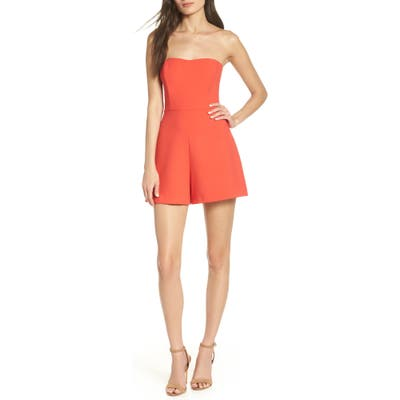 French Connection Sweetheart Jumpsuit, Red