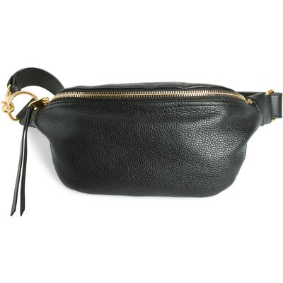 Rebecca Minkoff Bree Leather Belt Bag - Black